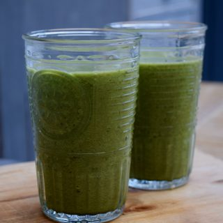 Glowing Green Smoothie Recipe from Lucy Loves Food Blog