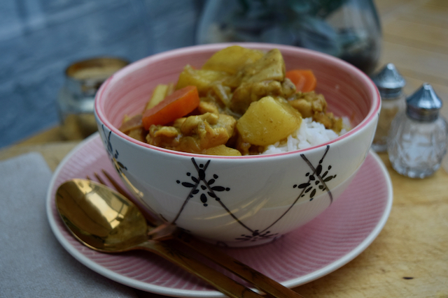 Japanese Chicken Curry recipe from Lucy Loves Food Blog