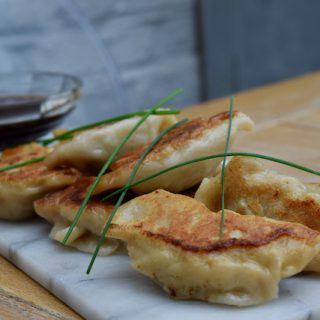 Simple Pork Dumplings recipe from Lucy Loves Food Blog