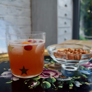 Cranberry Rum Dark and Stormy Recipe from Lucy Loves Food Blog