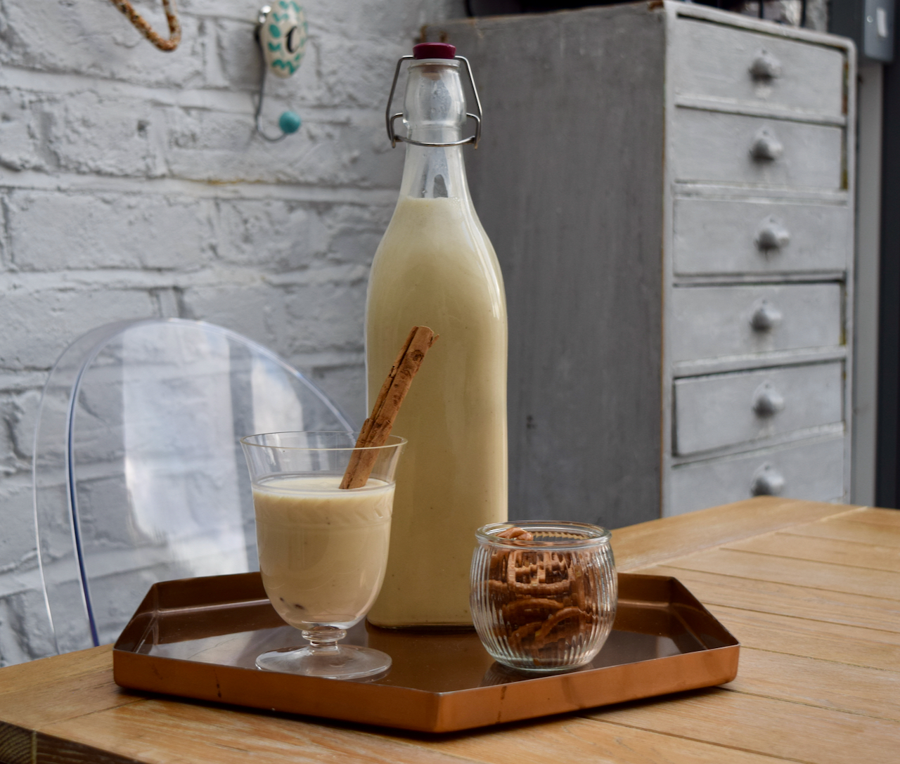 Coquito recipe from Lucy Loves Food Blog