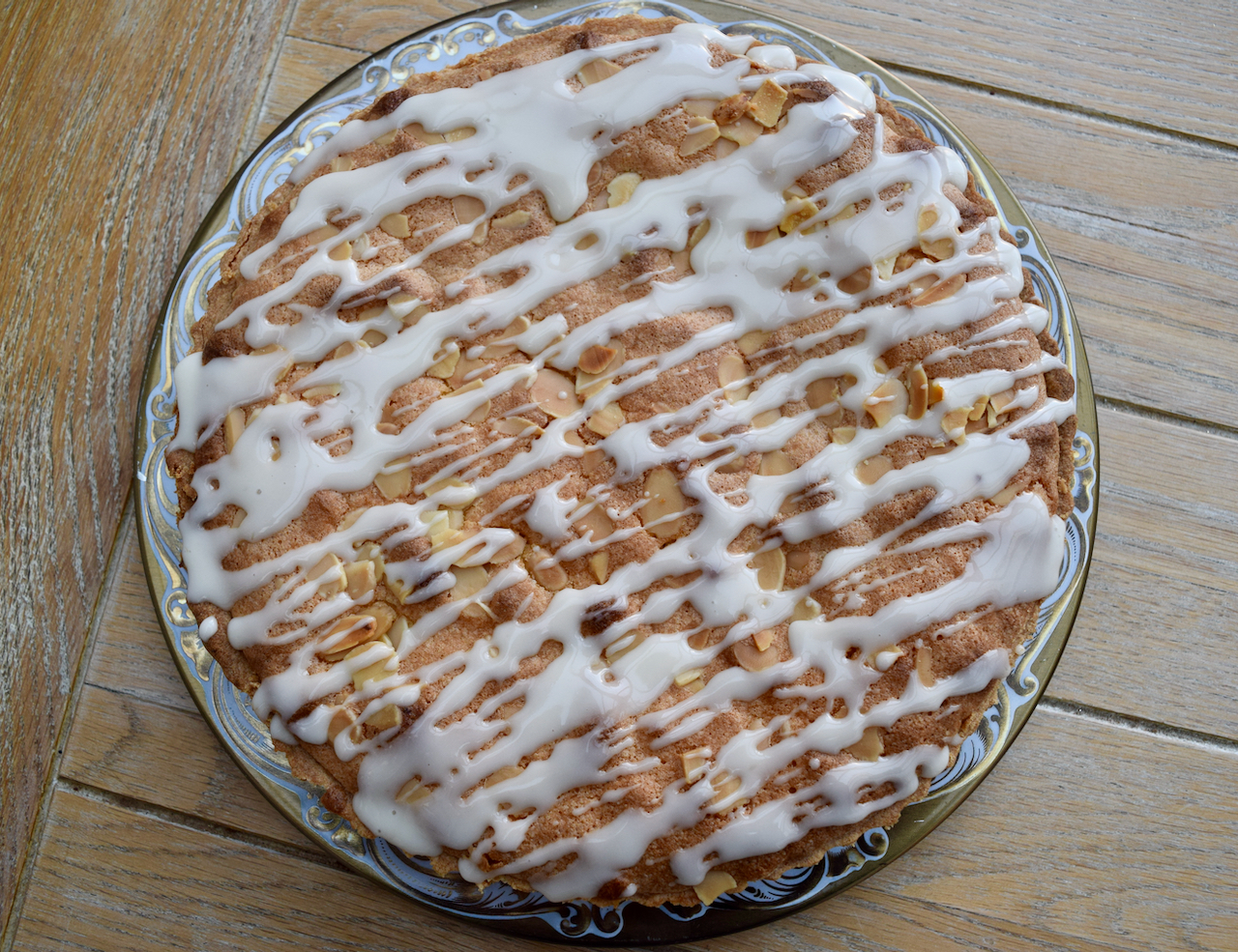 Mincemeat Bakewell Tart recipe from Lucy Loves Food Blog