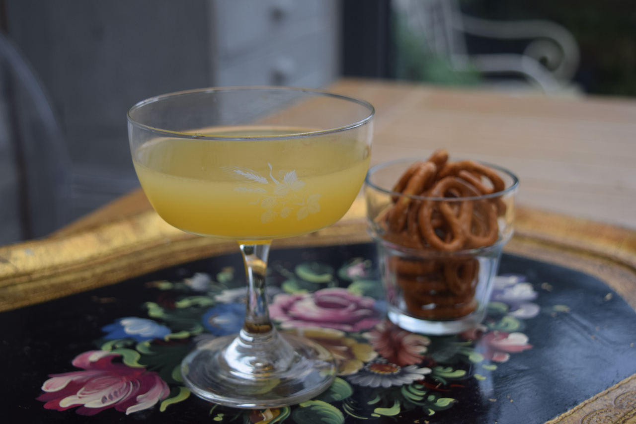 GIn and Sin Cocktail recipe from Lucy Loves Food Blog