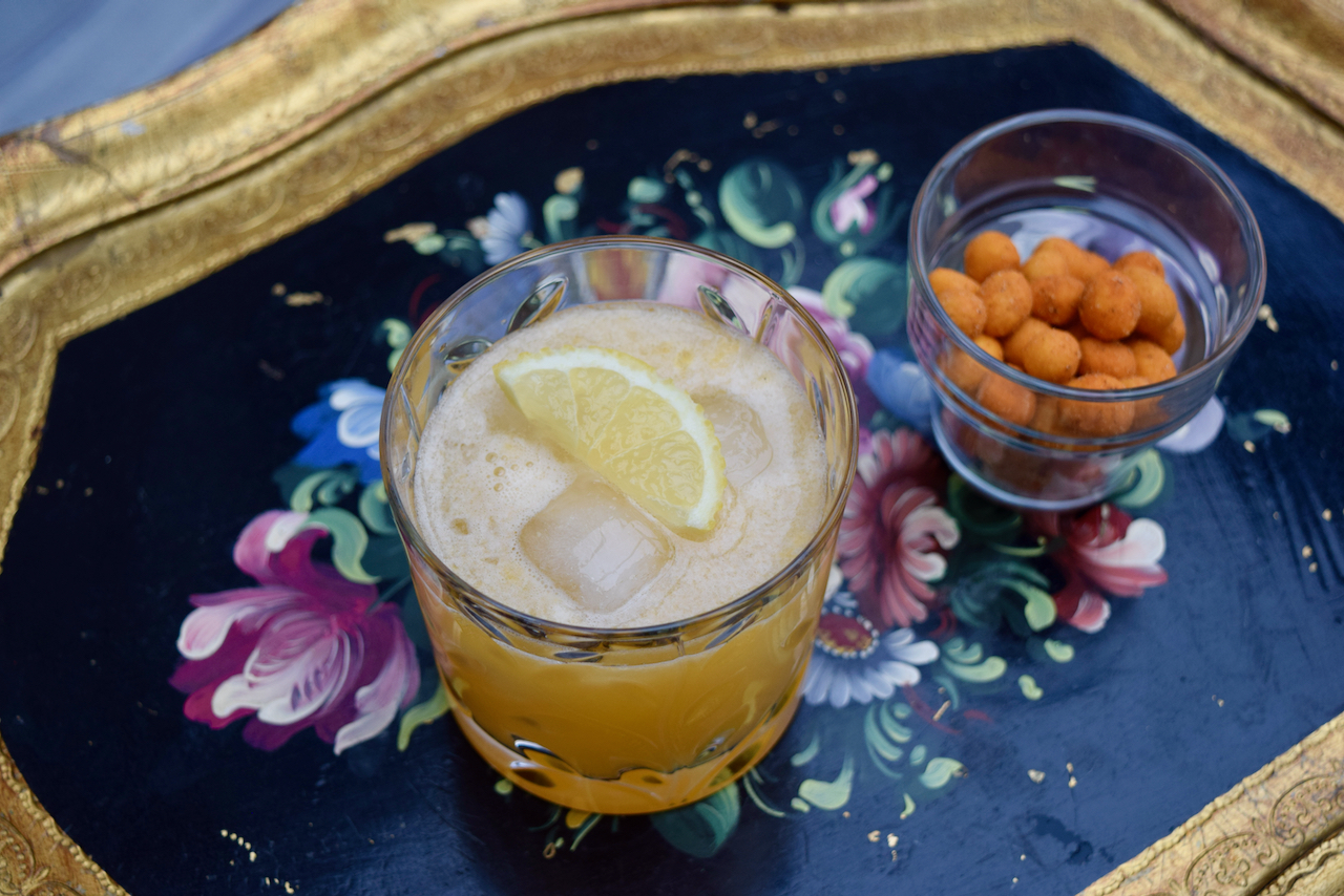 Winter Sun Cocktail recipe from Lucy Loves Food Blog
