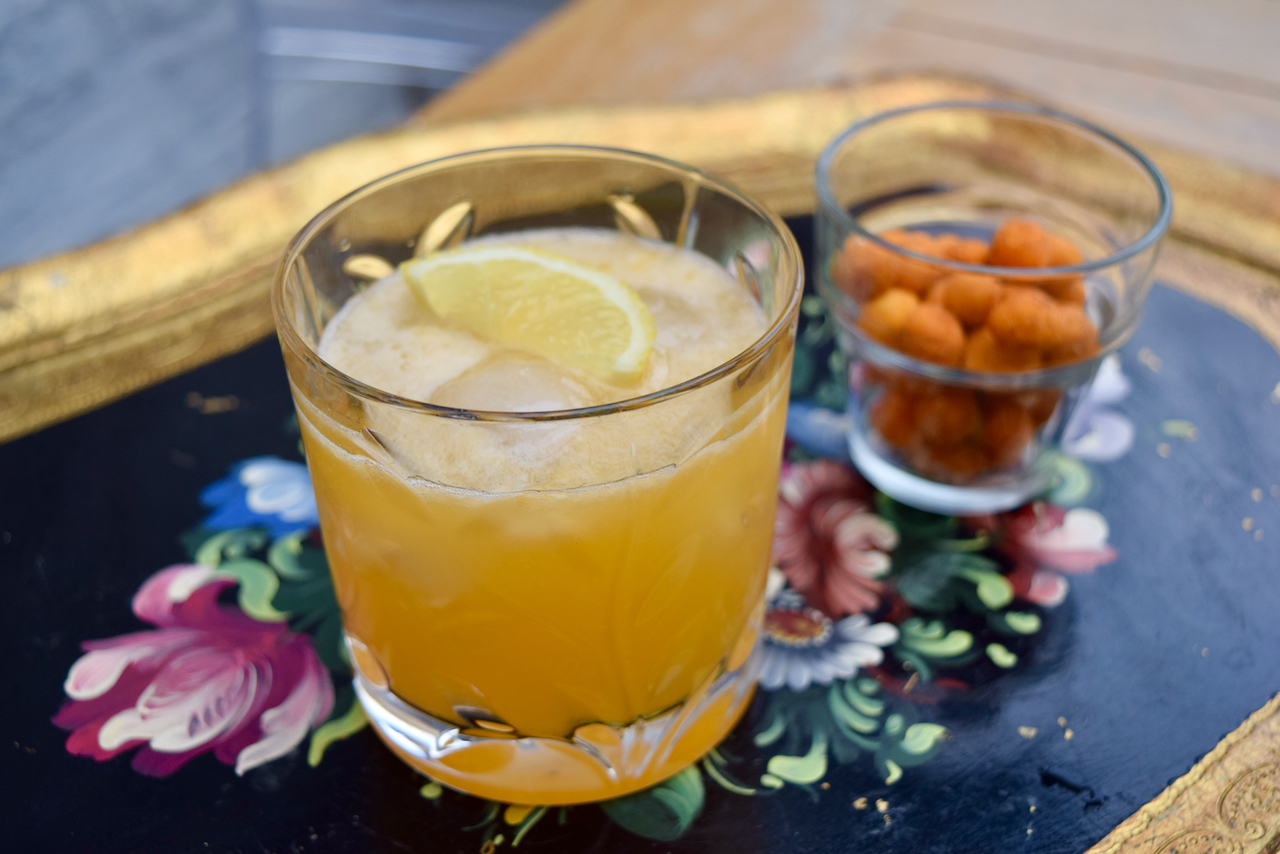 Winter Sun Cocktail from Lucy Loves Food Blog