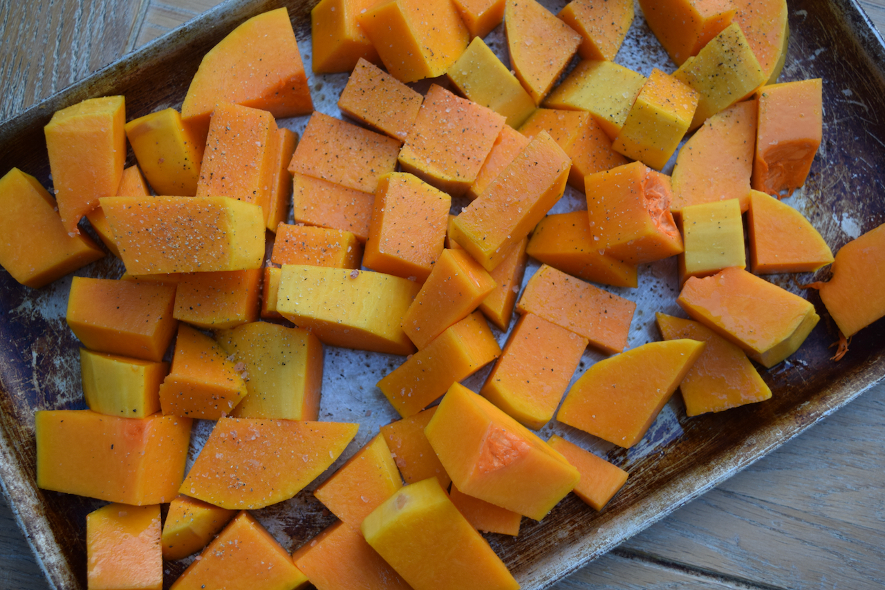 Roast Butternut and Taleggio Risotto recipe from Lucy Loves Food Blog