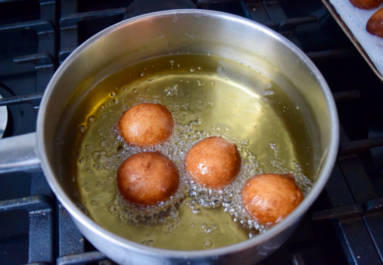 Ricotta Doughnuts recipe from Lucy Loves Food Blog