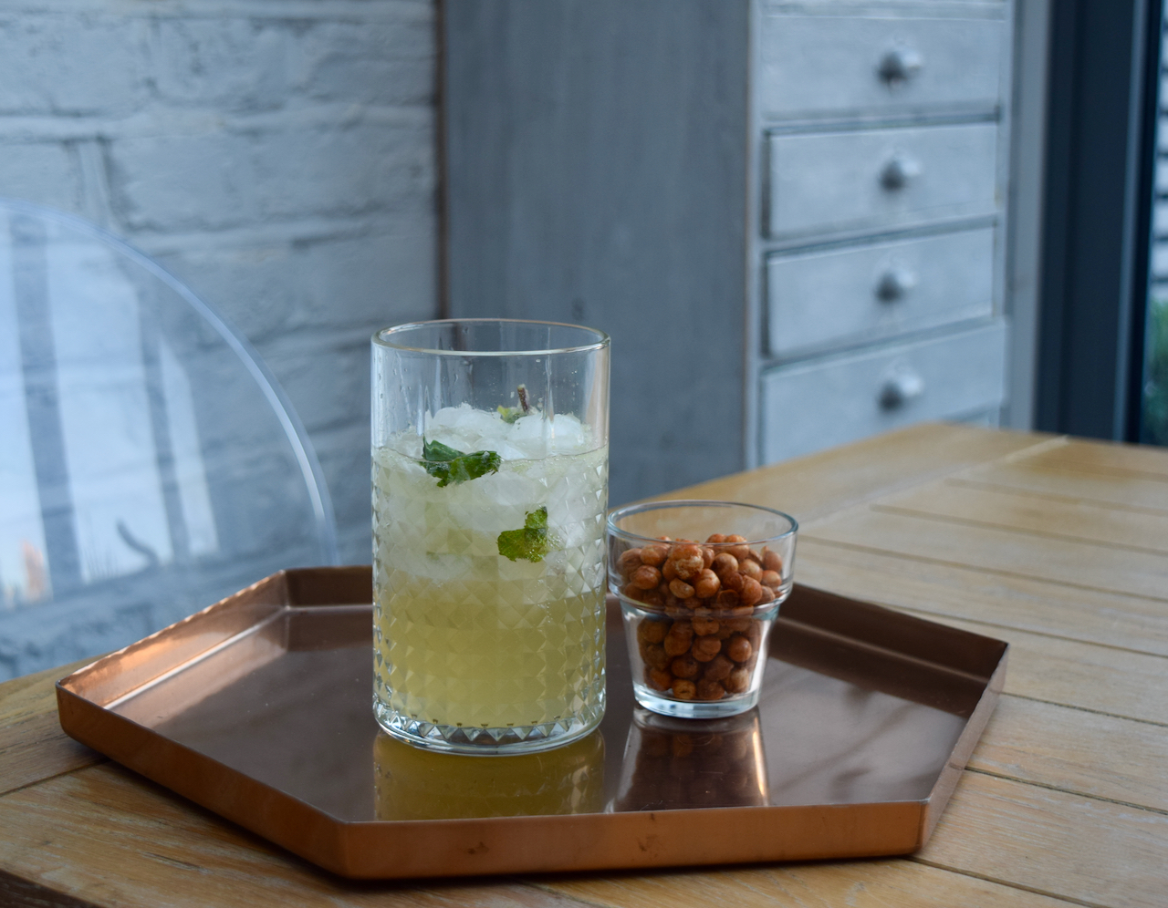 Ginger Whisky Mojito recipe from Lucy Loves Food Blog