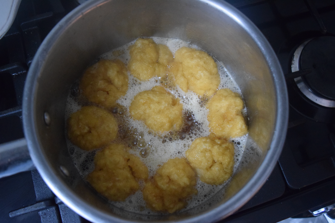 Golden Syrup Dumplings Recipe from Lucy Loves Food Blog