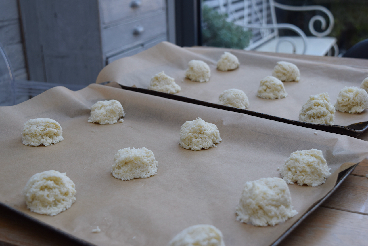 Coconut Macaroons recipe from Lucy Loves Food Blog