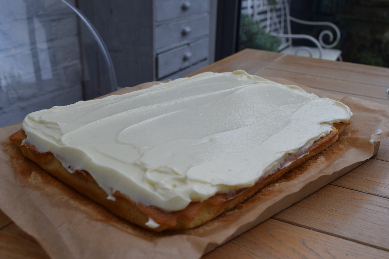 White Chocolate Cake recipe from Lucy Loves Food Blog