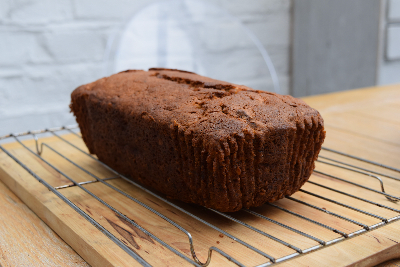Banana Custard Loaf recipe from Lucy Loves Food Blog