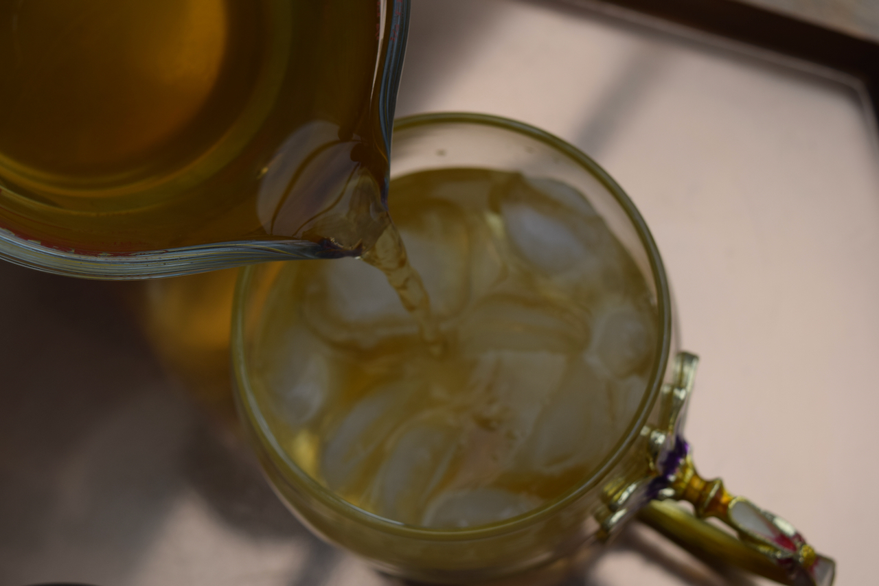 Camomile and Whisky Cup recipe from Lucy Loves Food Blog