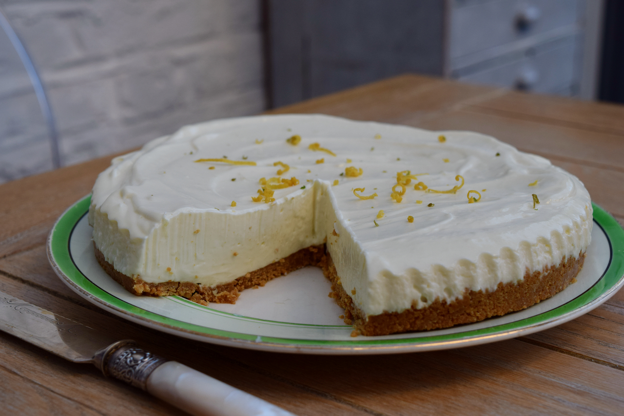 Lemon and Lime Pie recipe from Lucy Loves Food Blog
