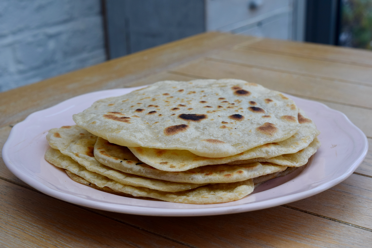 Homemade Tortillas Recipe from Lucy Loves Food Blog