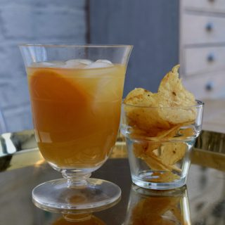 Orange Blossom Cocktail recipe from Lucy Loves Food Blog
