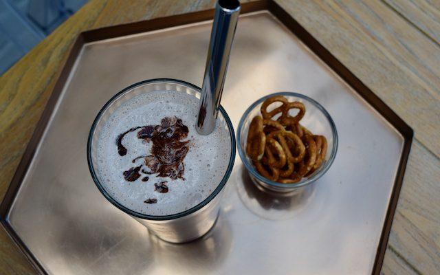 Bourbon and Chocolate Milkshake
