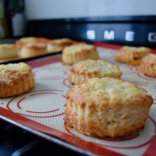 Cheese Scones recipe from Lucy Loves Food Blog
