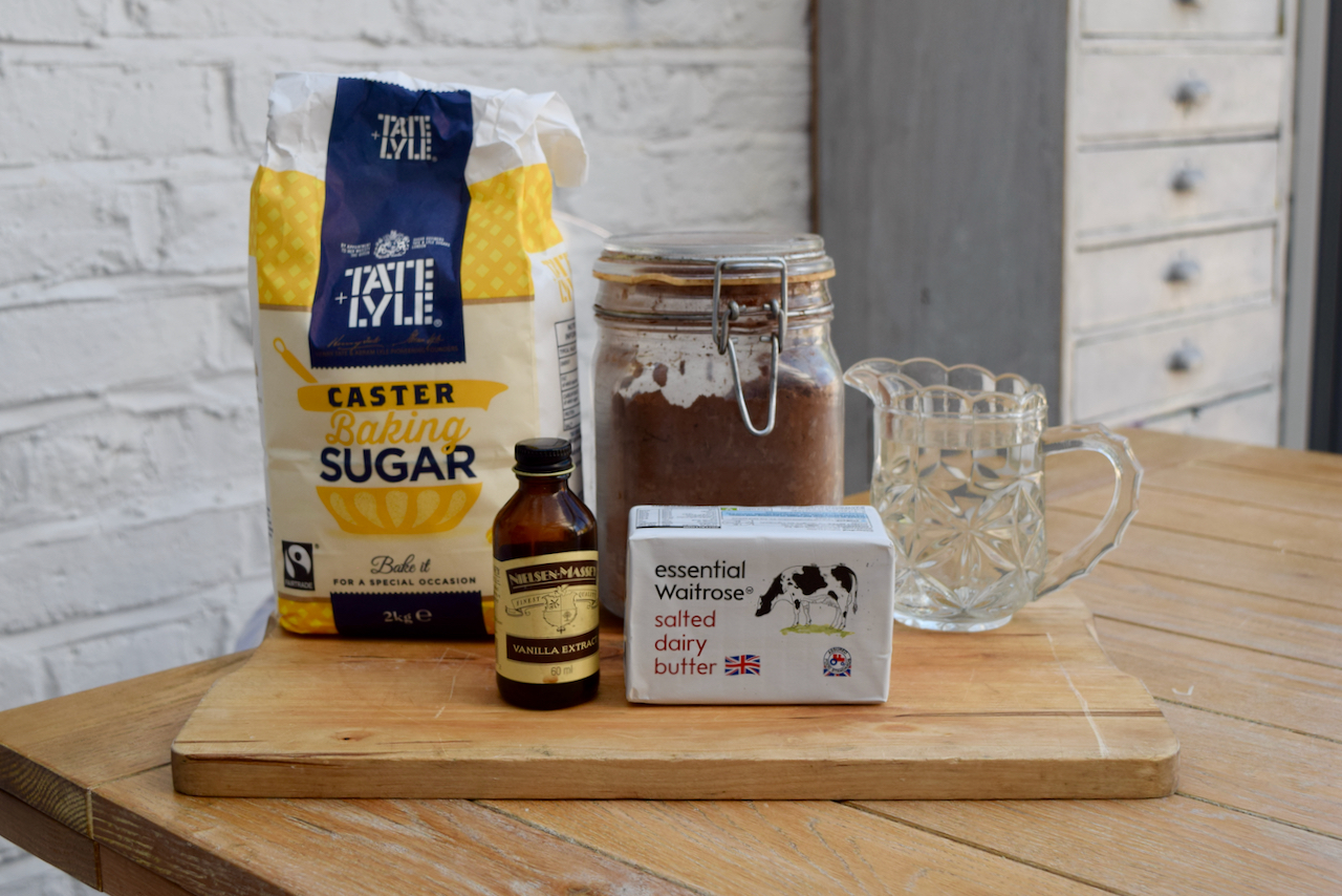 Evaporated Milk Ice Cream with Quick Chocolate Sauce recipe from Lucy Loves Food Blog