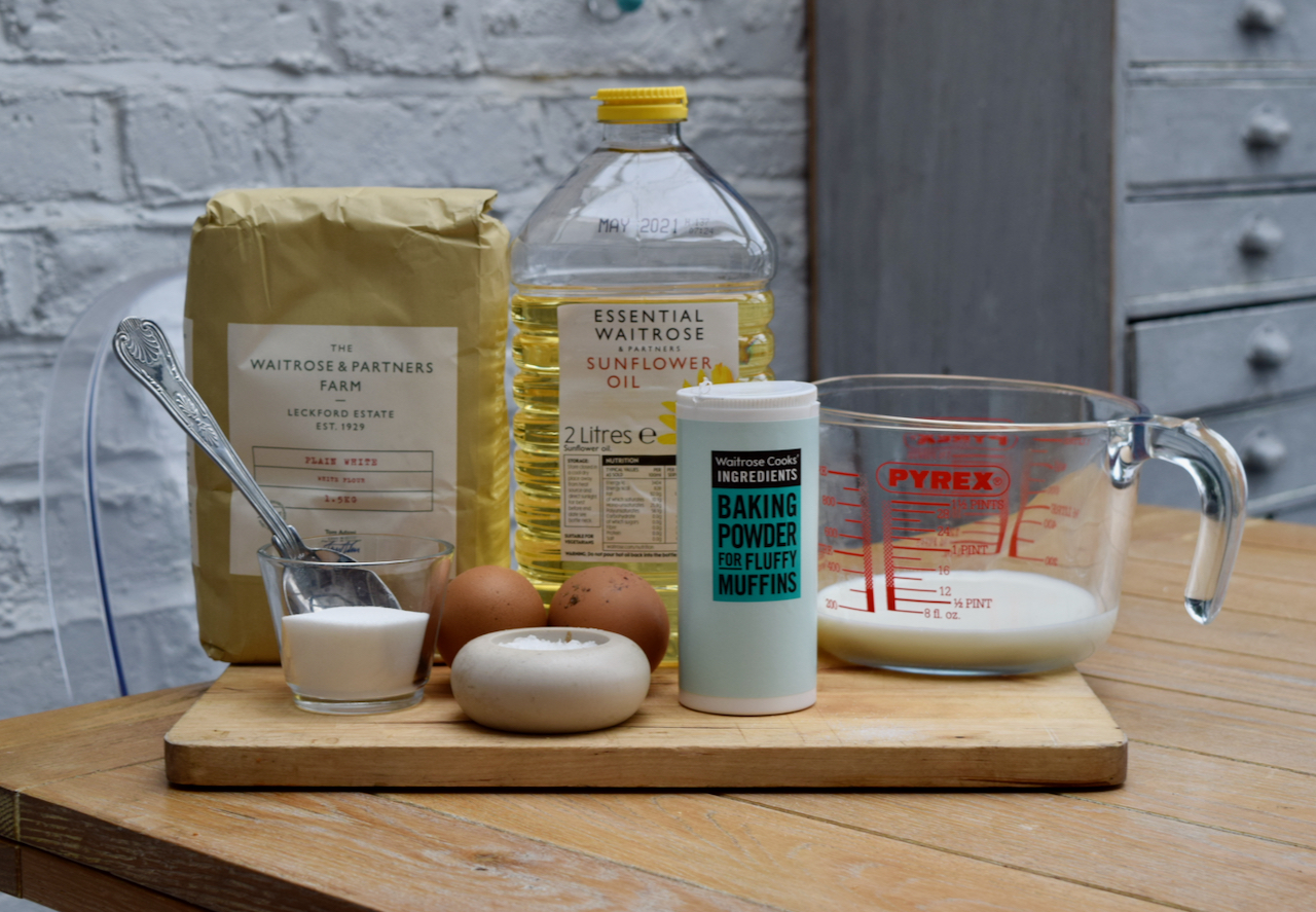 Baked Pancakes recipe from Lucy Loves Food Blog
