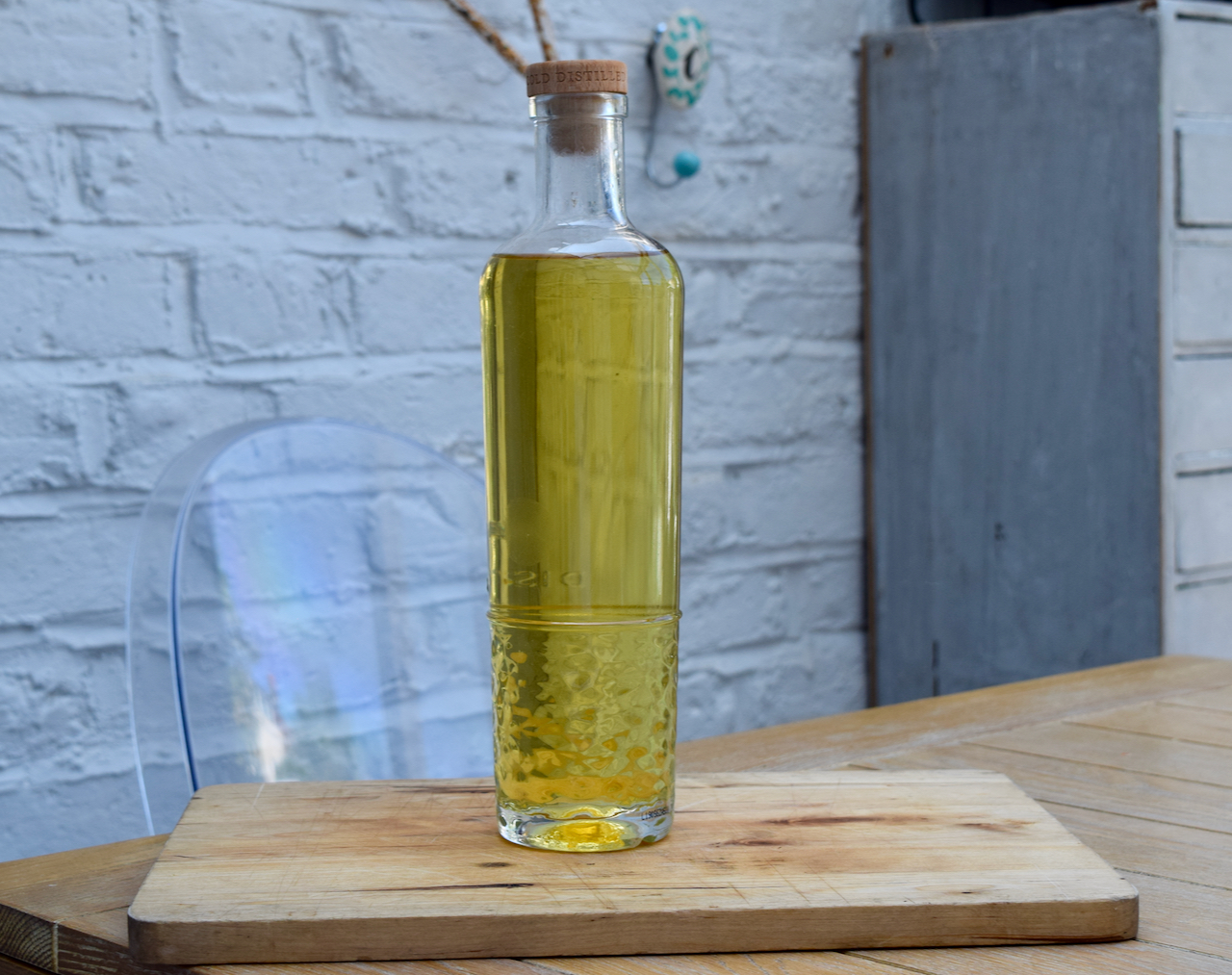 Homemade Orange and Lime Gin recipe from Lucy Loves Food Blog