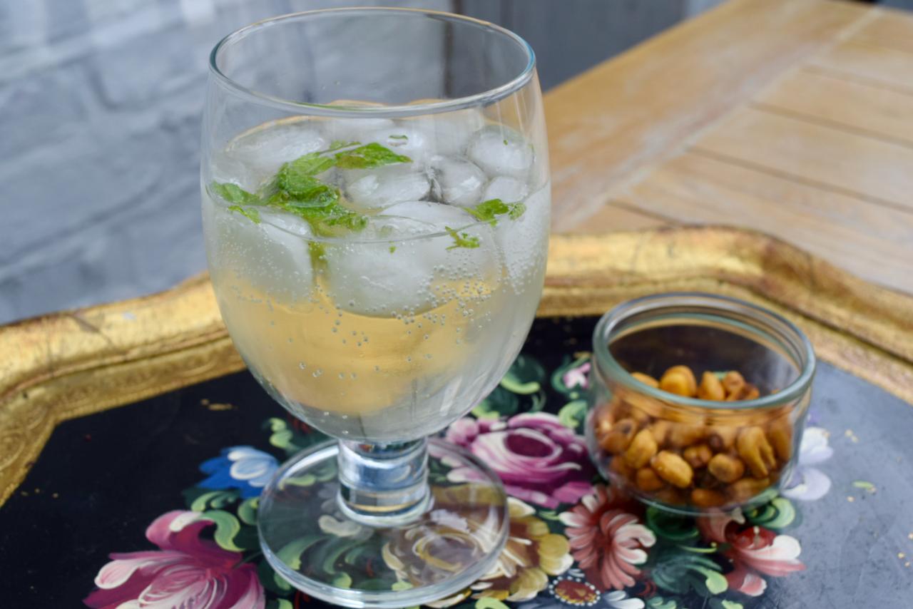 Homemade Elderflower Cordial recipe from Lucy Loves Food Blog