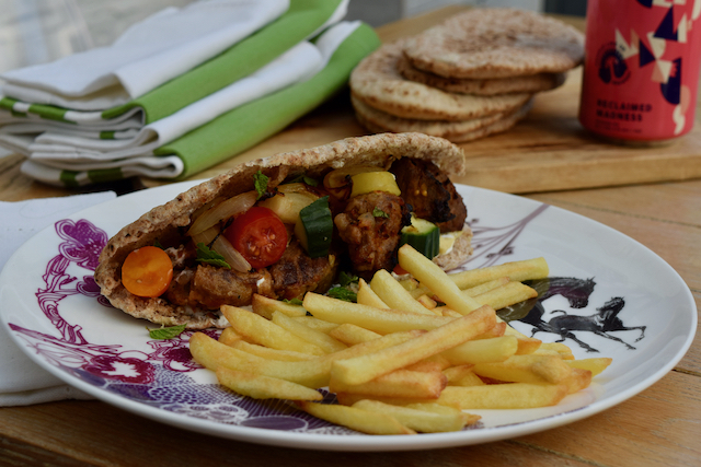 Pork Gyros recipe from Lucy Loves Food Blog