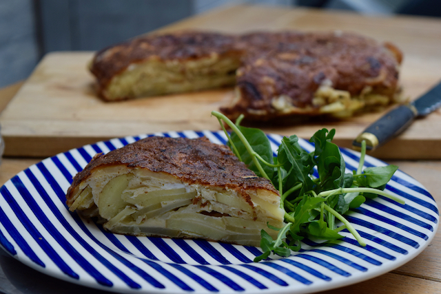 Spanish Omelette recipe from Lucy Loves Food Blog
