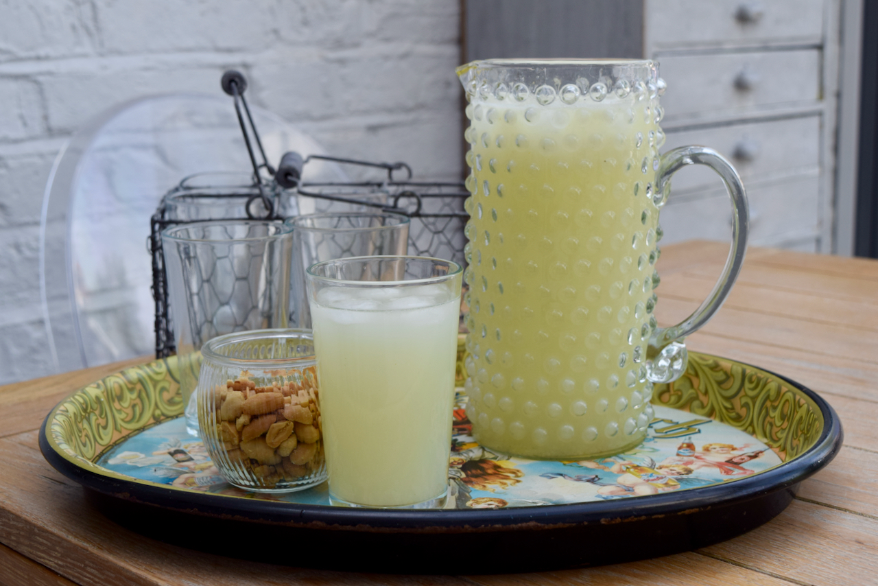 Fresh Limonada with Vodka recipe from Lucy Loves Food Blog