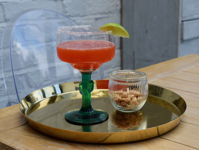 Fresh Strawberry Margarita recipe from Lucy Loves Food Blog