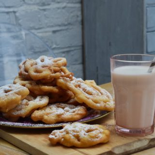 Funnel Cakes recipe from Lucy Loves Food Blog