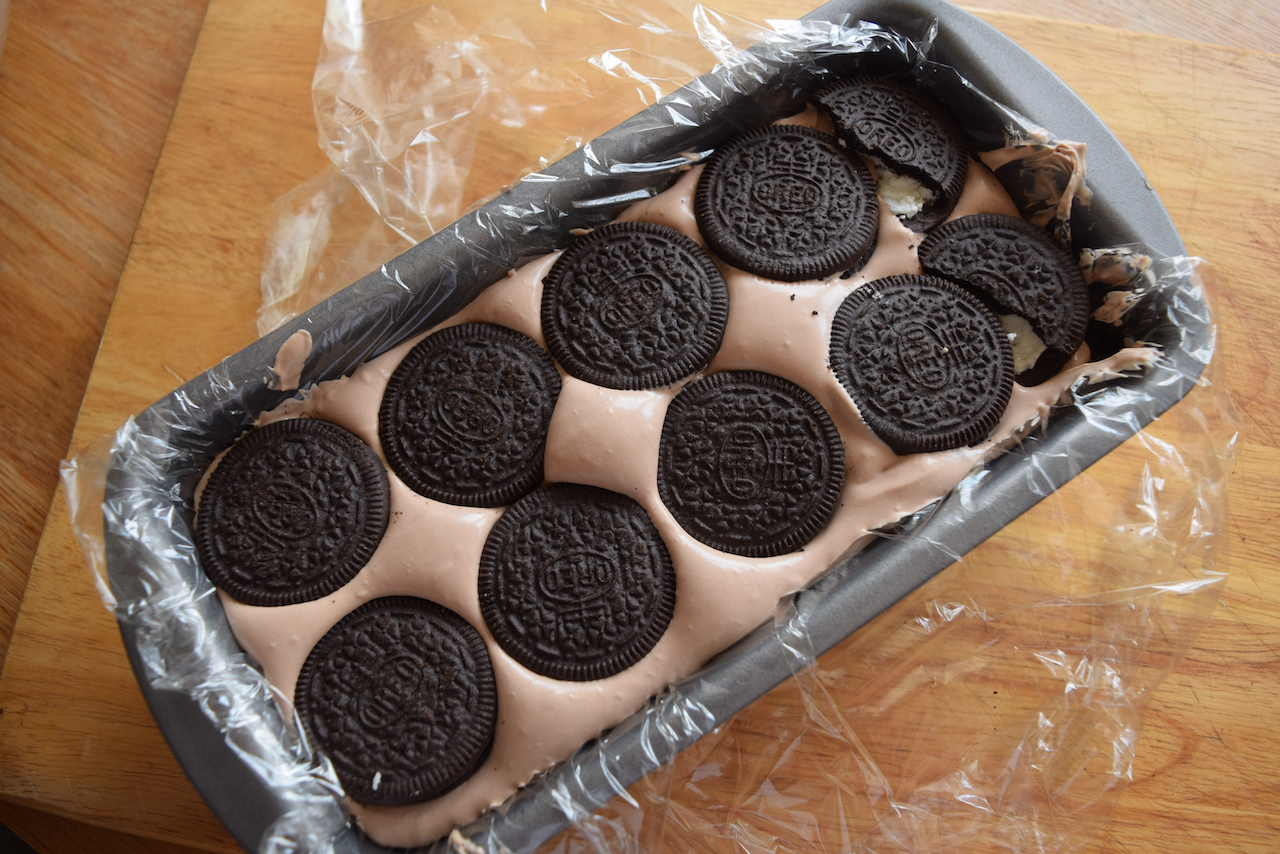 Oreo Icebox Cake recipe from Lucy Loves Food Blog