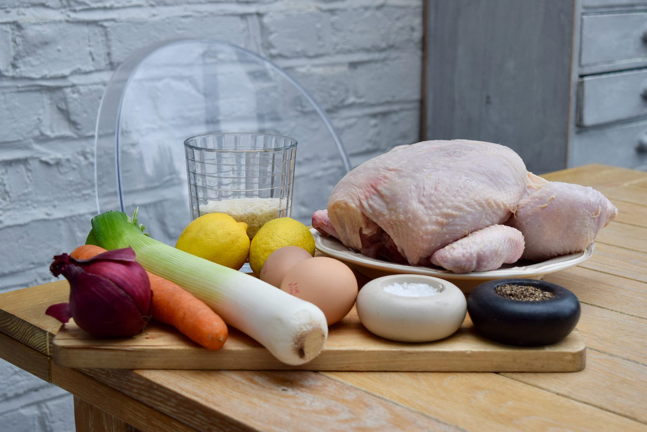 Greek Chicken and Lemon Soup from Lucy Loves Food Blog
