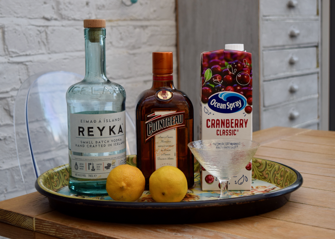 Duke's Cosmopolitan recipe from Lucy Loves Food Blog