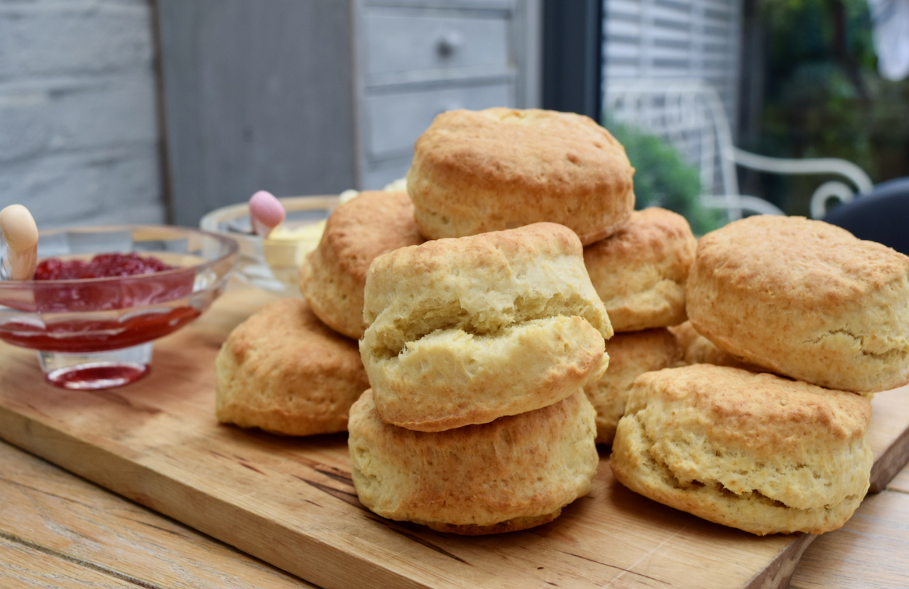 Lemonade Scones recipe from Lucy Loves Food Blog