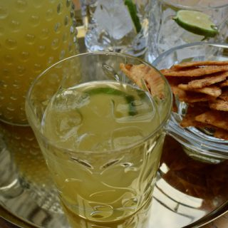 Pineapple Rum Punch recipe from Lucy Loves Food Blog