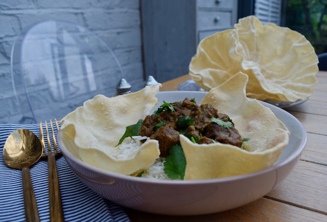 Coconut Beef Curry recipe from Lucy Loves Food Blog
