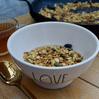 Small Batch Granola recipe from Lucy Loves Food Blog