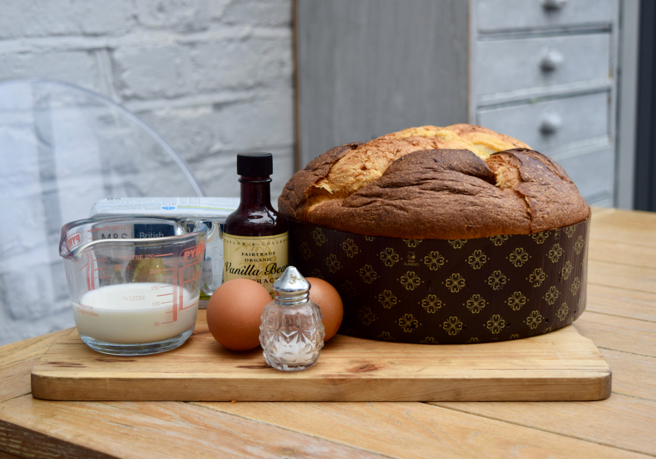 Panettone Pan Perdu recipe from Lucy Loves Food Blog