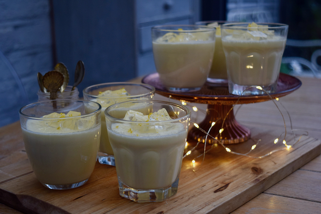 Gin and Tonic Posset recipe from Lucy Loves Food Blog