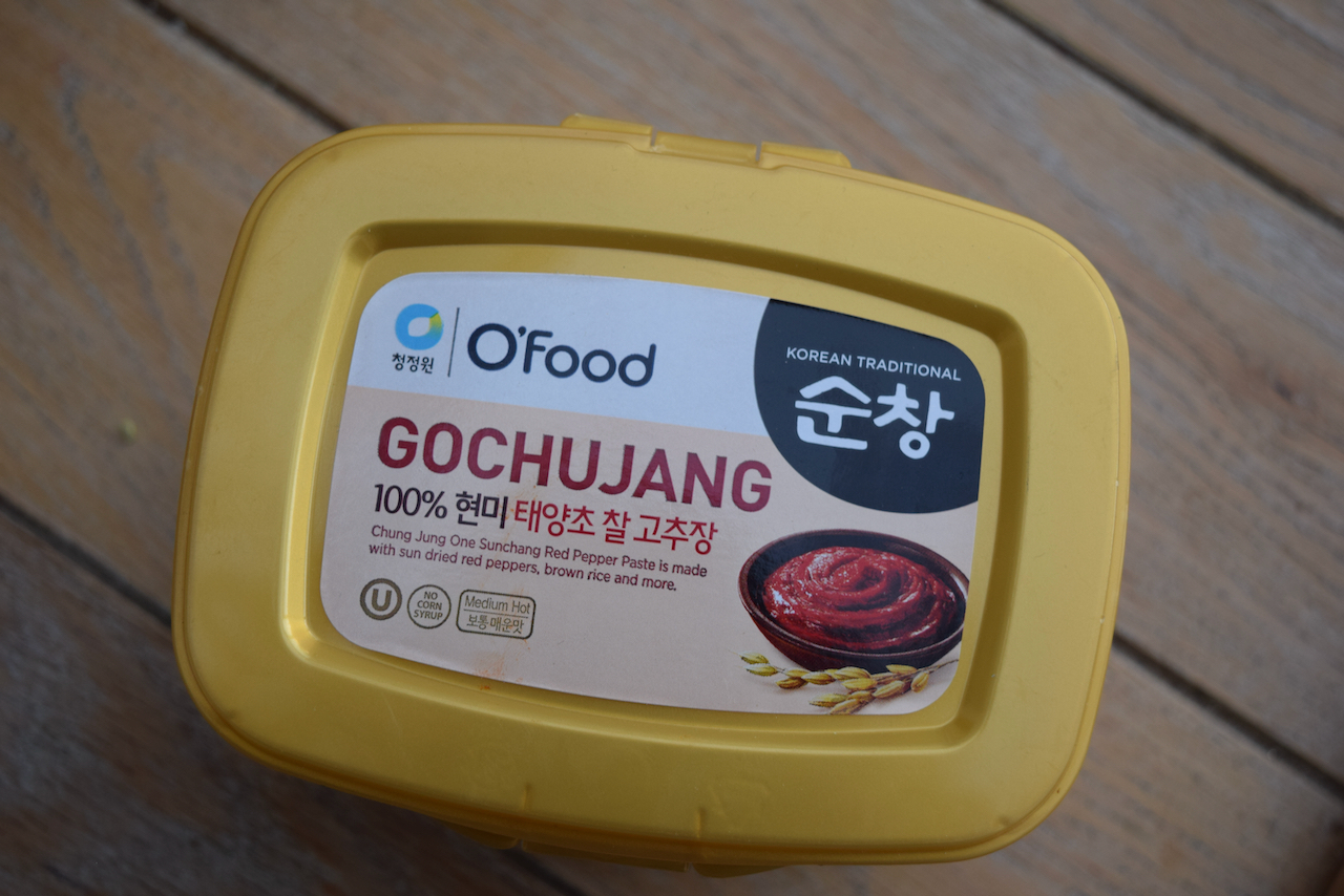 Korean Fried Cauliflower recipe from Lucy Loves Food Blog