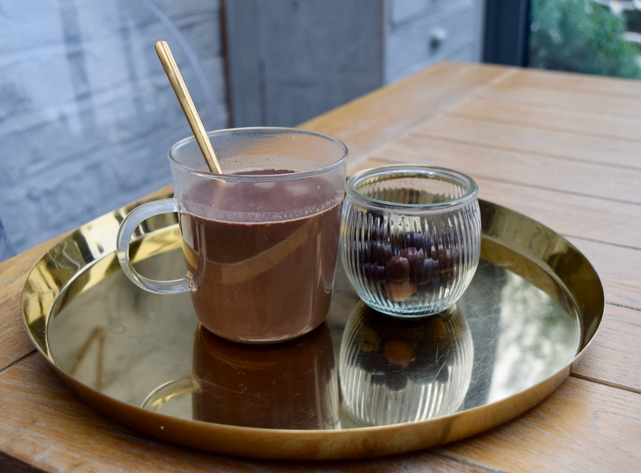Tequila Hot Chocolate recipe from Lucy Loves Food Blog