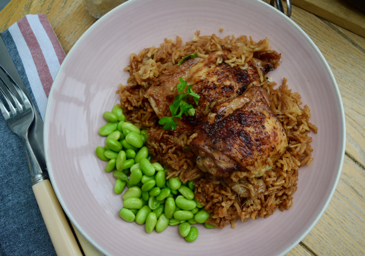 Honey and Soy One Pot Chicken recipe from Lucy Loves Food Blog