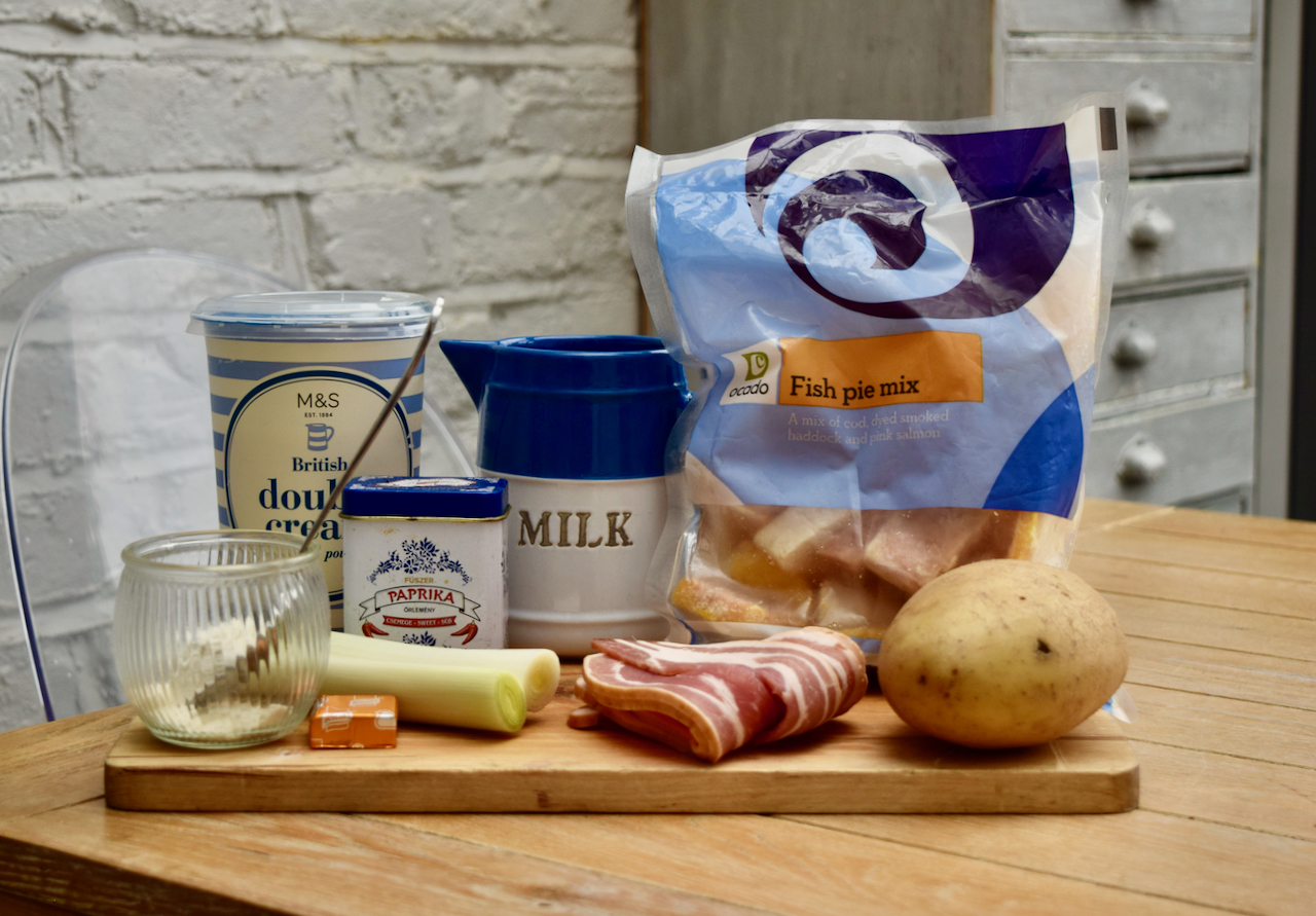 Fish Pie Chowder recipe from Lucy Loves Food Blog
