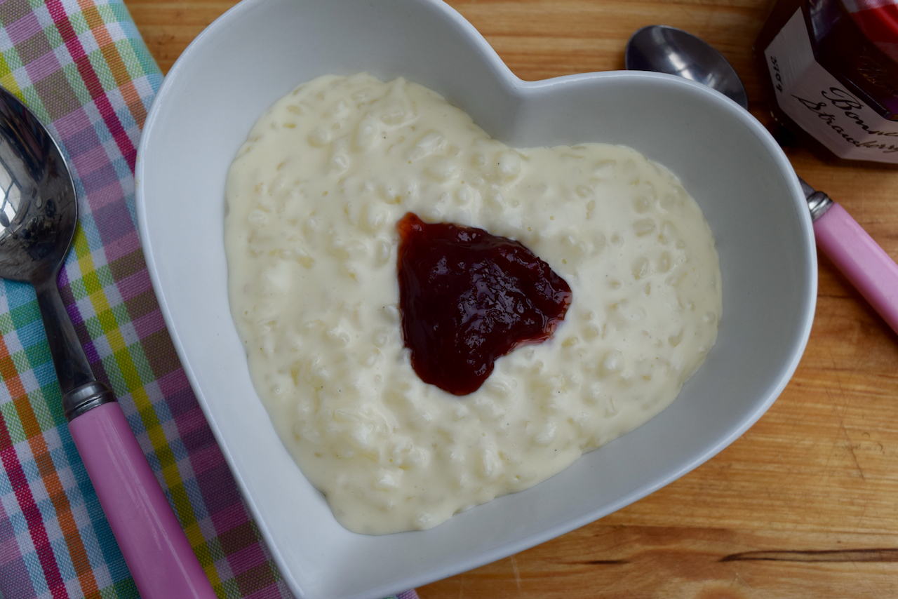 Stovetop Rice Pudding from Lucy Loves Food Blog