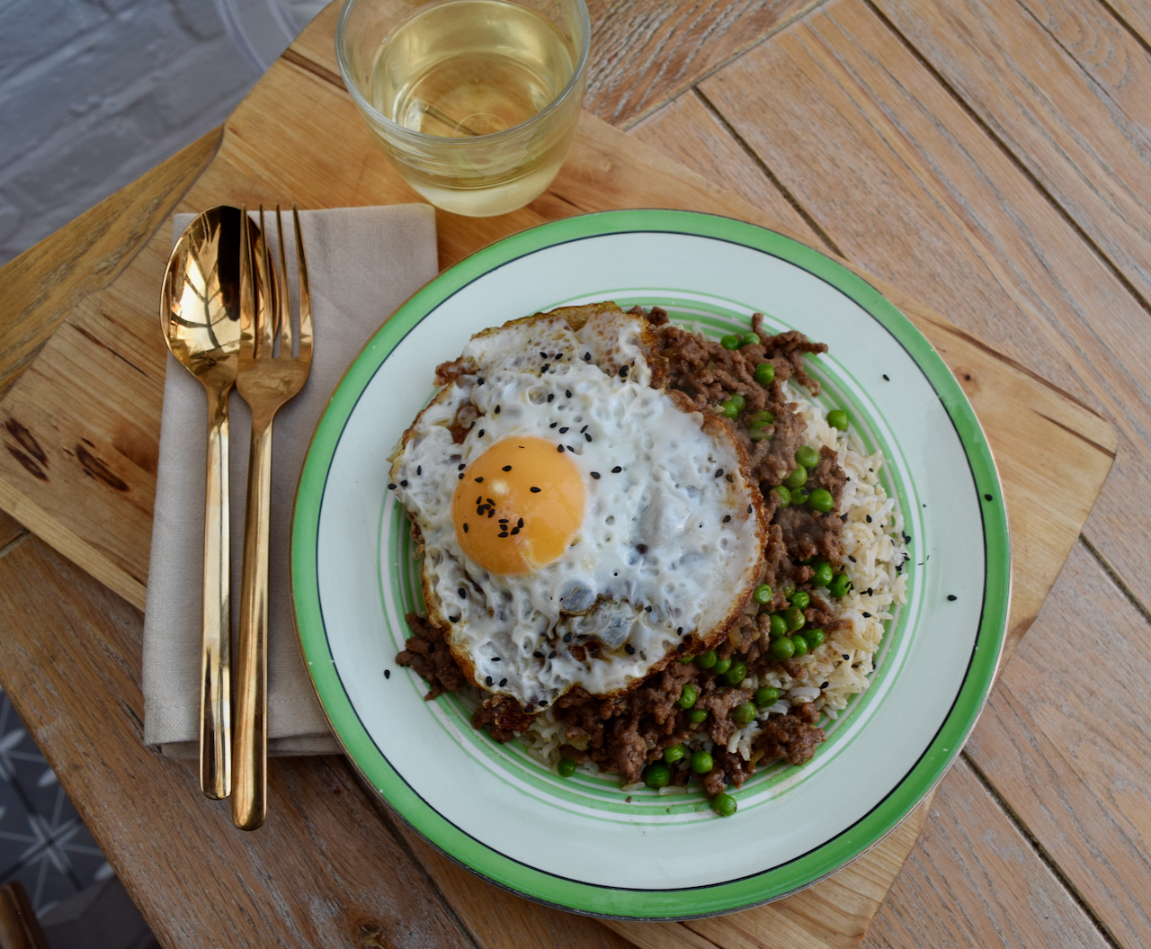 Cantonese Beef Rice Bowl recipe from Lucy Loves Food Blog