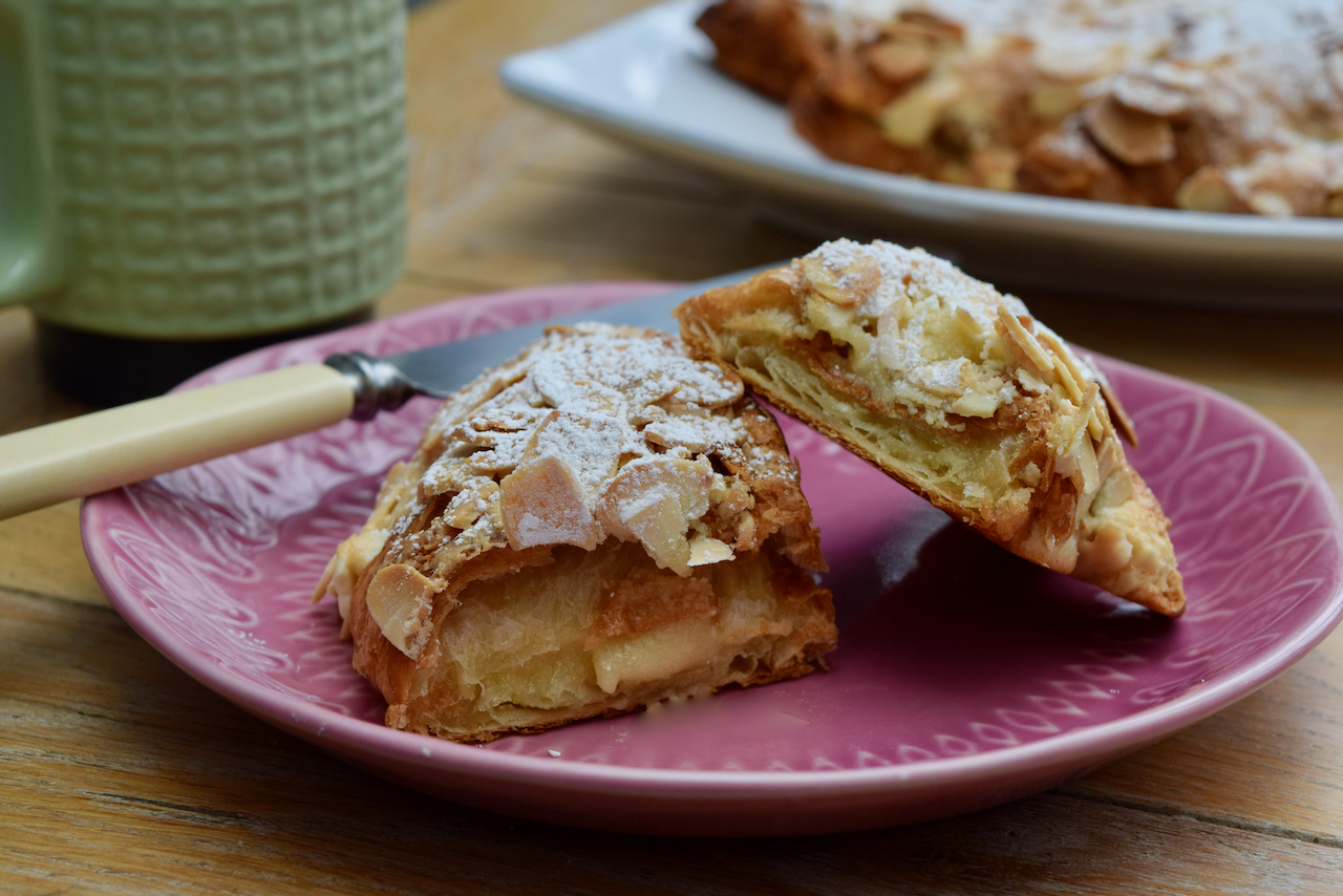 Easy Almond Croissants recipe from Lucy Loves Food Blog