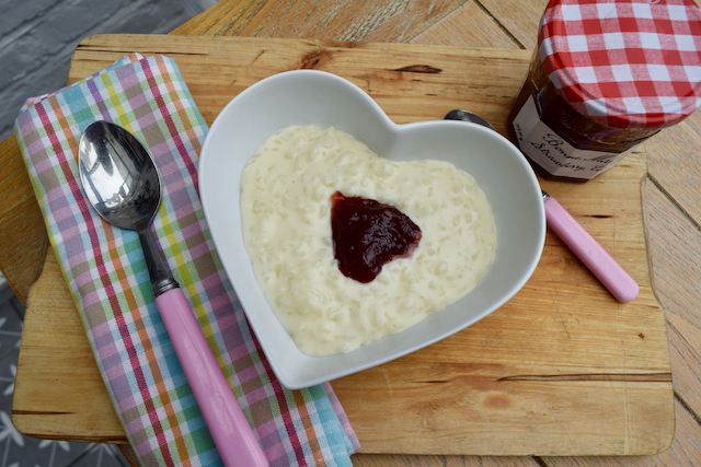 Stovetop Rice Pudding recipe from Lucy Loves Food Blog