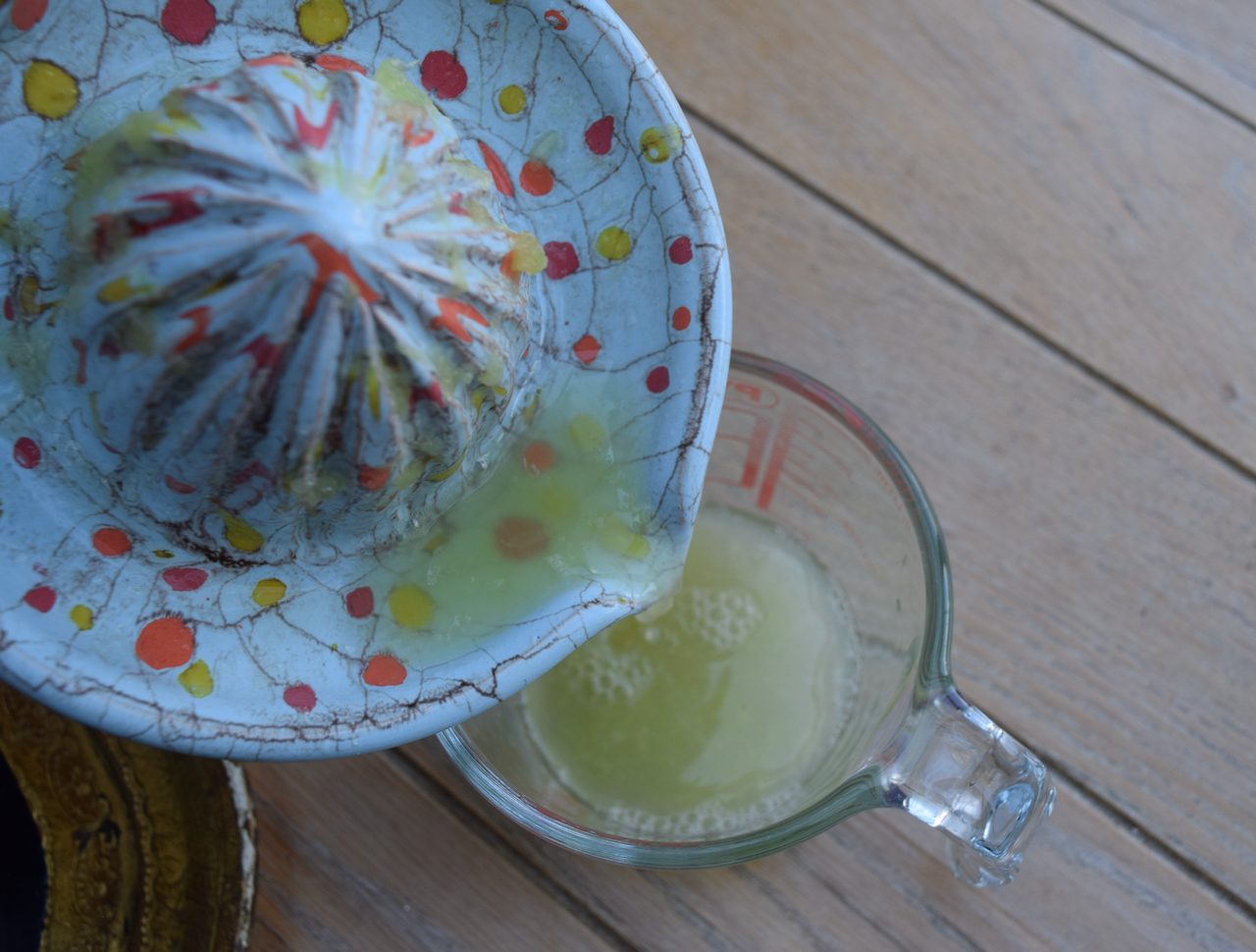 Gimlet recipe from Lucy Loves Food Blog