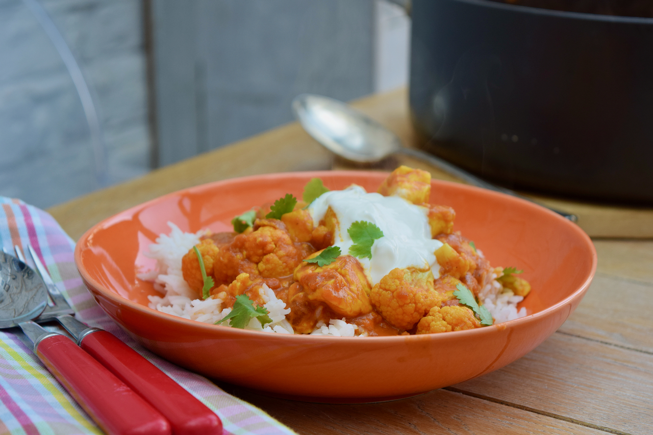 Halloumi and Cauliflower Curry recipe from Lucy Loves Food Blog